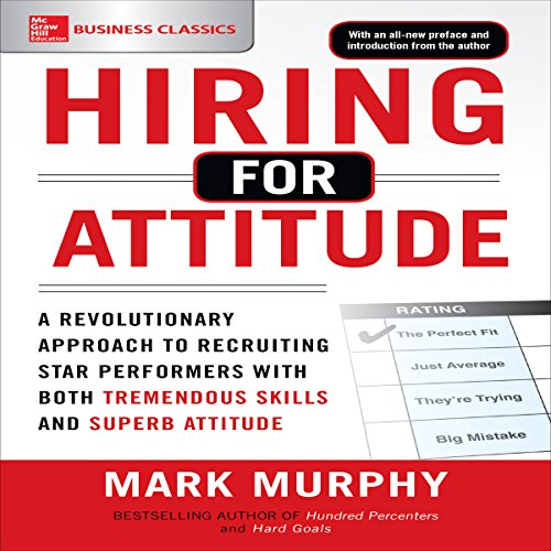 Hiring for Attitude audiobook cover art