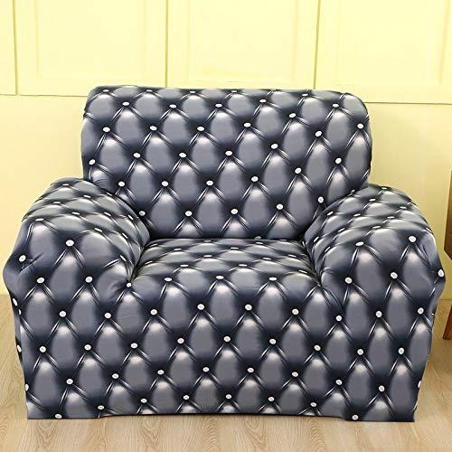 ASCV Stretch-Sofabezüge Elastic Furniture Protector Couchbezug l Armchair-Bezug für Wohnzimmer 1/2/3/4-Sitzer A20 4-Sitzer