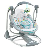 Best Baby Swing And Bouncers - Ingenuity ConvertMe Swing-2-Seat Portable Swing - Ridgedale Review