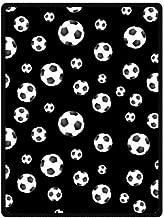 High Quality And Comfortable Soccer Ball Custom Blanket 58