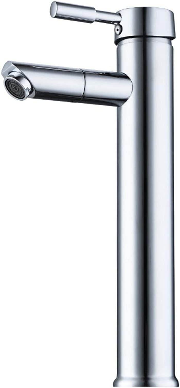 FTUUC Hot and cold faucet basin washbasin wash basin 360 degree redating bathroom faucet