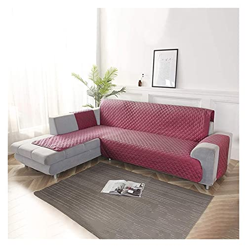 Funda de sofá 3 plazas seccional Anti-Slip Couch Cubiertas