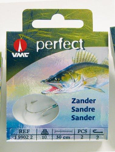 80 cm lang Storfisk fishing /& more Ryderhaken Zielfisch Haken Zanderhaken fertig gebunden