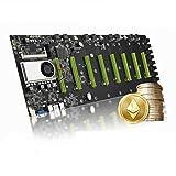 BTC-D37 Mining Motherboard CPU Set 8 Miner Video Card Slot Adapter Interfaz VGA integrada Ahorro de energía Bajo consumo de energía