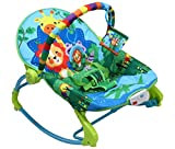 LuvLap Jungle Tales Newborn to Toddler Portable Rocker Cum Bouncer