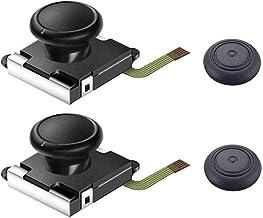 Thlevel Joystick de Palanca analógica analógica de 2 Piezas para Nintendo Switch Joy-con, Controlador 3D de reemplazo Izquierdo y Derecho Barra de Control analógica con Varilla