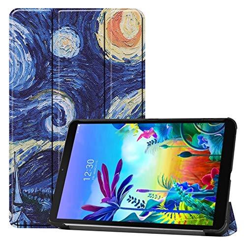 GHC Tablet-Zubehör Hüllen und Taschen, for LG G-Pad 5 10,1-Zoll-2019 mit Standplatz-Funktion Ultra Slim Premium-PU-Leder Schutzhülle for LG G-Pad 5 10,1 Zoll 2019 (Color : 2)