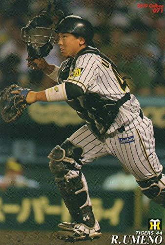 プロ野球チップス2019 第1弾 reg-071 梅野隆太郎 (阪神) レギュラーカード