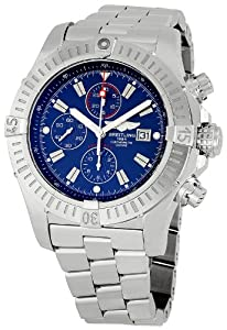 Breitling Men's A1337011/C757 Super Avenger Chronograph Watch Sale and Online and review image