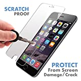 iPhone 6S / 6 Premium Quality Tempered Glass Screen Protector by Voxkin Invisible Protective Glass for iPhone 6 - Scratch Free, Perfect Fit & Anti Fingerprint - Crystal Clear HD Display