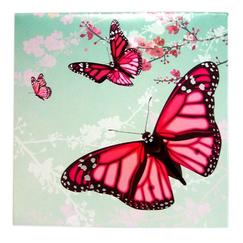 3D Greeting Card - PINK BUTTERFLIES - All Occasion Photo #3