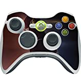 Comic Book Hero Red And Blue Background Vinyl Decal Sticker Skin by egeek amz for Xbox 360 Wireless Controller