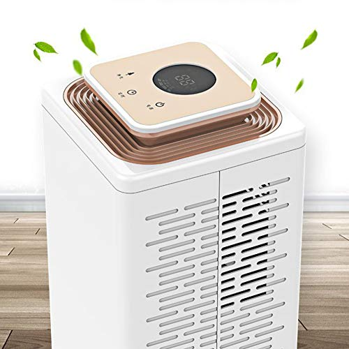 Sale!! HQYXGS Dehumidifier, Mini Portable Intelligent Timing Full Screen Touch Assisting Dry Clothes Low Noise Household