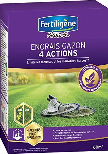 Fertiligene Engrais Gazon 4 Actions, 2,45kg, 60m²