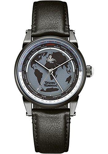 Vivienne Westwood Unisex Finsbury World Watch VV065MBKBK