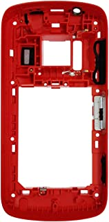 Mobile accessories HA for Nokia 808 PureView Middle Frame Bezel(Black) (Color : Red)