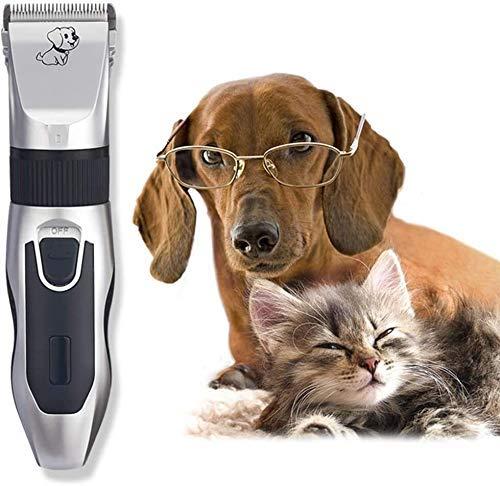 Pelo tijeras de corte de la herramienta Clippers Dog, de poco ruido herramienta de aseo preparación del perro Clippers inalámbrico for mascotas pelo Trimmer recargable for mascotas perros profesional