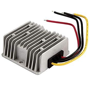 120W Voltage Regulator Buck Converter 48V Step-Down to 12V 10A Waterproof Voltage Reducer for Golf Cart Power Module LED Strip Light