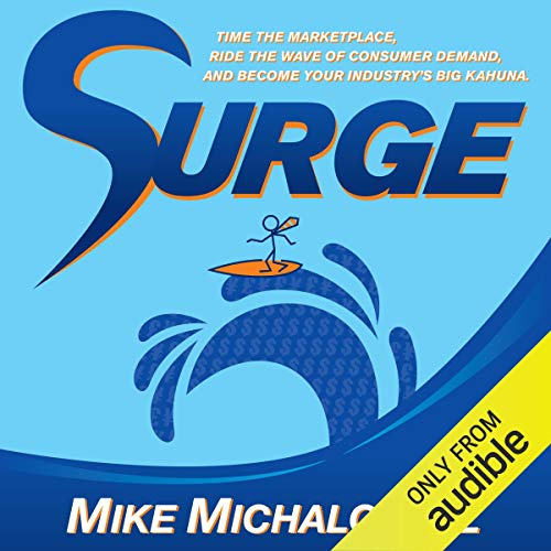 Surge audiobook cover art