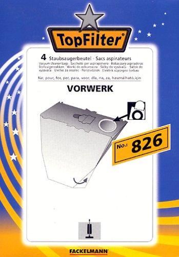 Fackelmann Top Filter 4 Staubsaugerbeutel Nr. 825