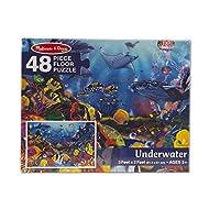 Melissa & Doug Underwater Floor Puzzle (48 pc)