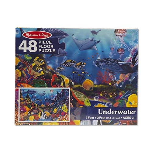 Melissa & Doug Underwater Floor Puzzle (48 pc)