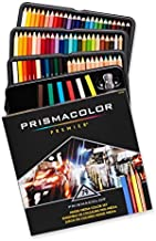 Prismacolor 1794654 Premier Mixed Media Set, Colored Pencils-Art Stix-Pencil Sharpener, Assorted Colours, 79-Count