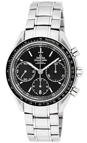 [オメガ] 腕時計 スピードマスター ブラック文字盤 コーアクシャル自動巻 100M防水 クロノグラフ 326.30.40.50.01.001 並行輸入品 シルバー [並行輸入品]