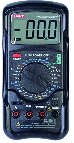 UNIT-T MIE0018 - Multimetro digitale AC/DC UT55