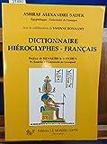 Dictionnaire hiéroglyphes-français