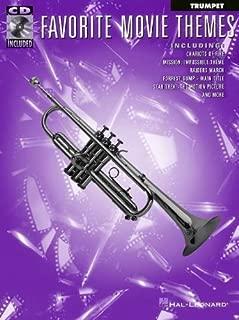 FAVORITE MOVIE THEMES TRUMPET BK/CD (October 1, 1997) Paperback