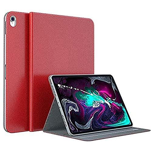 YIU Funda para iPad Pro 11 pulgadas 2018 liberación, cuero premium delgado múltiples ángulos de visión plegable soporte folio cubierta, no soporte lápiz inalámbrico carga
