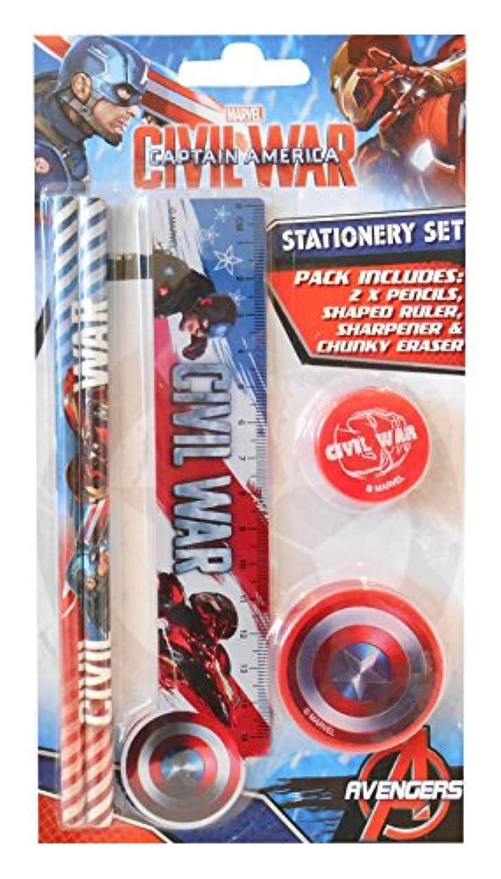 Captain America Civil War Novelty Stationery Set