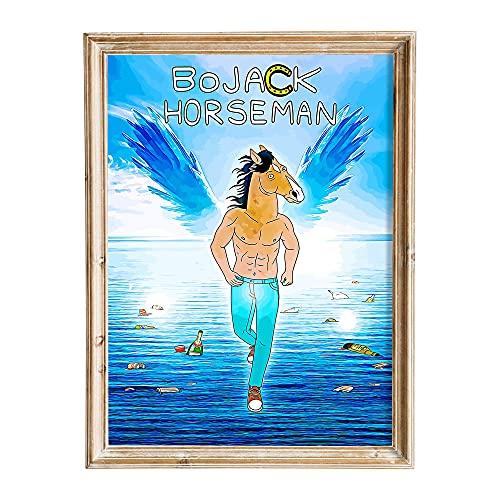 FANART369 Poster BoJack Horseman #6 formato A3 serie TV poster originale fanart art stampa artistica da parete decorazione 29,7 x 42 cm senza bordi