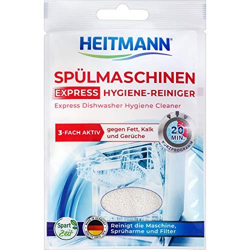 Heitmann - Limpiador para lavavajillas Express, 30 g