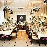 ibvenit 4er Set Tischdeckenbeschwerer für draußen Tischtuchklammern Tischtuchbeschwerer mit Klemmkraft Tischdeckenbeschwerer Vorhang Beschwerer Flamingo Tischdecken Gewichte - 6