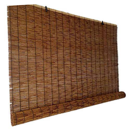 XZRR Persiana Bambu Exterior-persiana Enrollable-Persianas De Caña,Filtro De Luz,Levantamiento,Baño,Patio,Decoración De Ventanas,jardín,persianas Enrollables