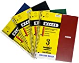Norcom Exceed Wide Ruled Notebook 10.5 x 8.5 Inches, 150-Count, Assorted Colors (1 Notebook per Order) (77583-12)