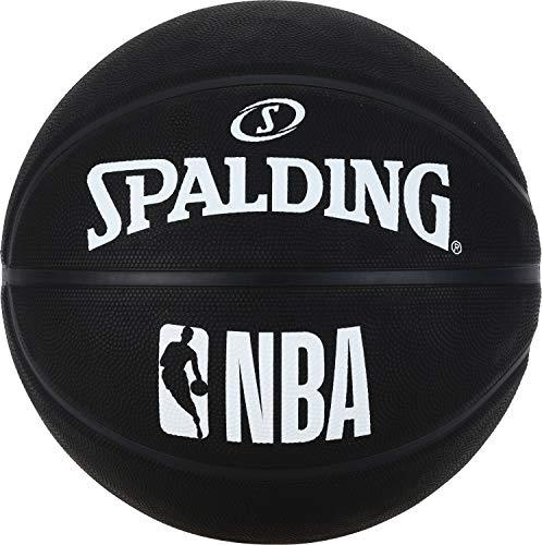 Spalding NBA SZ 7 (83-969Z) Palla da Basket, Unisex, Colore Nero, 7