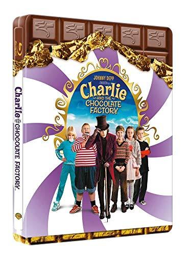 Charlie and the chocolate factory [Blu-ray] limited Steelbook [Import mit Deutscher original Syncronisation]