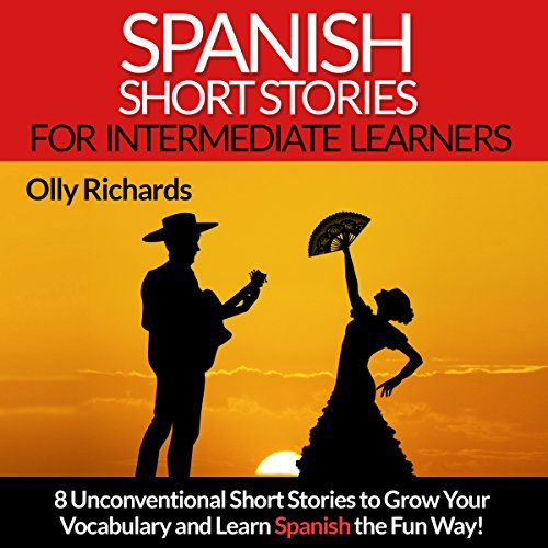 『Spanish Short Stories for Intermediate Learners』のカバーアート
