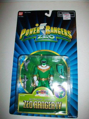 Power Rangers Zeo 1996 Green IV Ranger MOSC MOC 5 1/2' Figure