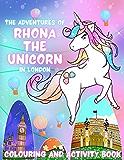 《伦敦独角兽罗娜历险记:涂色和活动手册》