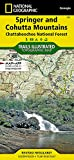 Springer and Cohutta Mountains [Chattahoochee National Forest] (National Geographic Trails Illustrated Map, 777)