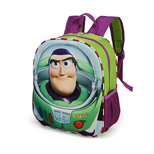 KARACTERMANIA Toy Story Buzz-3D Backpack (Small) Kinder-Rucksack, 31 cm, 8.5 liters, Mehrfarbig (Multicolour)