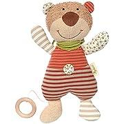 SIGIKID 48916 Spieluhr Bär Green Mädchen und Jungen Babyspielzeug empfohlen ab Geburt mehrfarbig