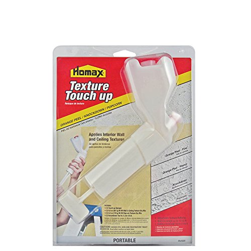 Homax 41072041218 Texture Touch Up Kit, Wall and Ceiling Texture and Sprayer