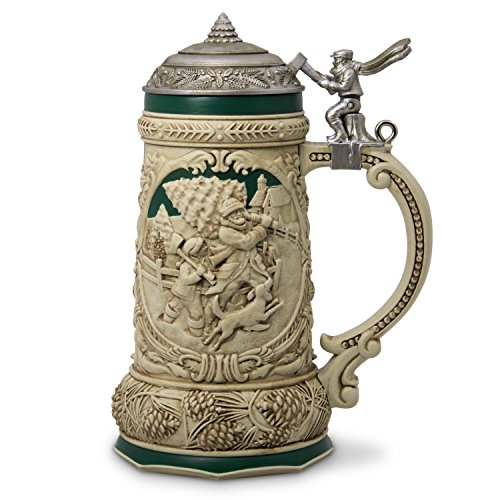 Hallmark Keepsake Christmas Ornament 2018 Year Dated, Beer Stein