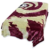 College Covers Florida State Seminoles Super Soft Sherpa Blanket, 63' x 86'