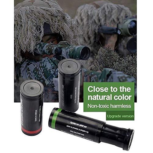 XFC-MICAI, 1pcs Multicolor al Aire Libre táctica Militar Camping Pintura de la Cara de Camuflaje Pintura Corporal Pintura de Cara Ejército del Ventilador for el Paintball de Caza